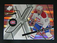 2008-09 SPx Base Card #48 Alex Kovalev Montreal Canadiens