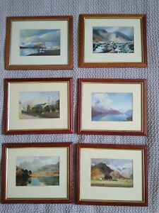 Lake District Frame Prints Collection Troutbeck Helvellyn M Heaton Cooper x 6