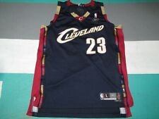 Lebron James Cleveland Cavaliers Navy Blue Swingman Reebok Jersey Adult Large