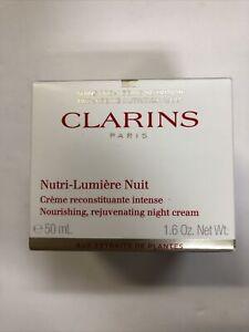 Clarins Nutri-Lumiere Nourishing, Rejuvenating Night Cream 1.6oz