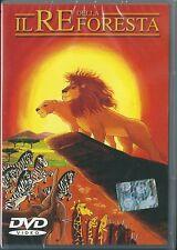 Il Re della Foresta (2002) DVD NUOVO SIGILLATO Cartoni Animati