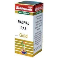 2 x Baidyanath RASRAJ RAS gold10 tablets for Body Health free shipping