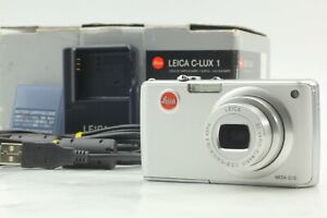 【N MINT in BOX】LEICA C-LUX1 6MP Digital Camera - Silver by FedEx From Japan A549