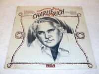 "Charlie Rich ""Tomorrow Night"" 1973 Country LP, SEALED!, Original RCA #APL1-0258"