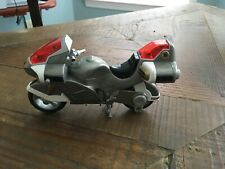 1999 Bandai Silver Power Rangers Motorcycle Missing Handle  Rare.