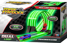 Car Race Track Dual Loop For Gravity Drive Remote Control Sets Glowing Toy