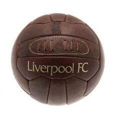 Liverpool FC Heritage in stile retrò CALCIO MARRONE IN PELLE OLD FAN Squadra Club sostenitore