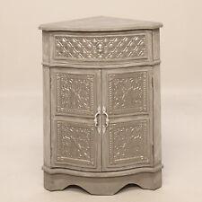 2336 - Gray Corner Cabinet