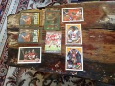 Joe Montana Football Card Lot (8) Cards