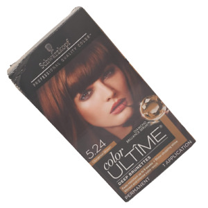 Schwarzkopf Color ULTIME 5.24 Cinnamon Brown Permanent Hair Color Kit