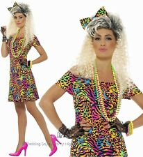 Smiffys Ladies 1980s Party Animal Fancy Dress Costume