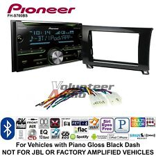 Pioneer FH-S700BS Double Din Car CD Stereo Radio Install Kit Bluetooth