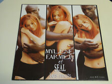 Mylène Farmer LES MOTS Maxi 45t 12'' Souls for Strings Mix – 2001 Stuffed Monkey