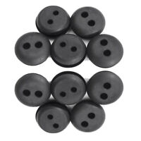 10pcs 2 Hole Fuel Tank Grommet Replacement For Stihl Honda Trimmer Lawn Mower