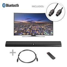 Majority 120W TV Sound Bar with Bluetooth & Optical