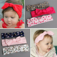 Lovely 3pcs Kids Girl Baby Toddler Bow Headband Hair Band Accessories Headwear