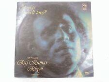 RAJ KUMAR RIZVI SONGS YOU WILL LOVE 1978 RARE LP RECORD india hindi GHAZAL EX