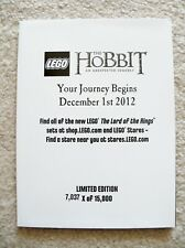 LEGO Lord Of The Rings The Hobbit - Rare - Poster - Frodo - #7037 of 15000