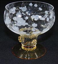 THERESIENTHAL - WEINGLAS Weißweinglas Glas - BEERENNOPPEN Bernstein WEINRANKE
