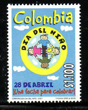 COLOMBIA #1175  2001  CHILDRENS DAY    MINT  VF NH  O.G