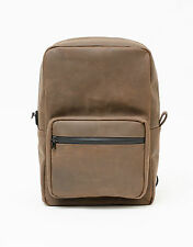 Abscent Leather Backpack Cacao Odor Absorbing Smell Proof Odor Proof Funk BPK105