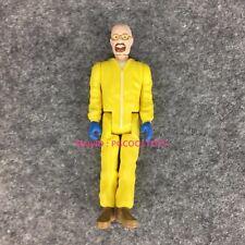 "Funko Reaction Walter White Yellow Hazmat 3.75"" Breaking Bad Action Figure Used"