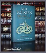 Beowulf Translated by J.R.R. Tolkien Sellic Spell New Collectible Hardcover Gift