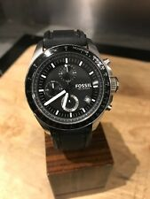 Fossil CH2573 Men's Chronograph Watch with rubber strap
