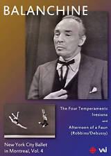 New York City Ballet in Montreal, Vol. 4: Balanchine (DVD, 2014)