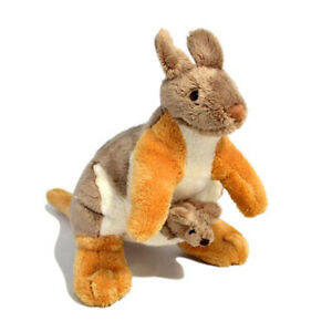 DINKI DI ENDANGERED YELLOW FOOT ROCK WALLABY SOFT ANIMAL PLUSH TOY 25cm **NEW**