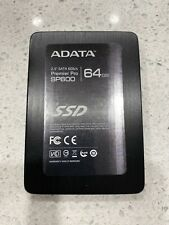 "Adata SP600 64GB SATA-SSD 2.5"" Laptop Hard Drive Solid State Drive"