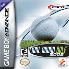 ESPN Final Round Golf 2002 GBA New Game Boy Advance
