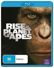 Rise Of The Planet Of The Apes (Blu-ray, 2011)