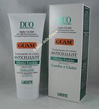 GUAM DUO Crema anticellulite Effetto freddo 200ml GAMBE GLUTEI cream leg gluteal