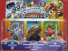 Skylanders Giants - Golden Dragonfire Cannon Battle Pack