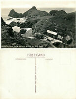 1930's KYNANCE COVE BISHOP & GULL ROCK CORNWALL UNUSED POSTCARD