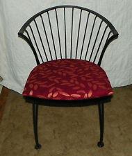 Black Iron Barrel Back Chair / Sidechair (Sc232)