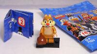 Lego 71024 Minifiguren Disney Serie 2, Streifenhörnchen Chap mit Sack #  8 NEU