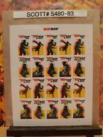 Scott # 5480-83 - Hip Hop - Sheet of (20) Forever Stamps