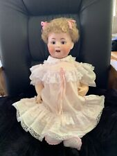 "Antique Toddler Doll Bisque Heubach Koppelsdorf 300-7 Germany 21"""