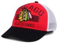 Chicago Blackhawks Reebok VY80Z NHL Hockey Meshback Trucker Cap Hat