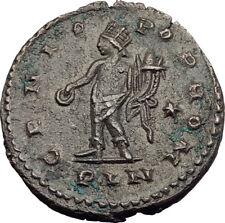 MAXIMINUS II Daia 311AD Londinium London Mint Ancient Roman Coin GENIUS i64033