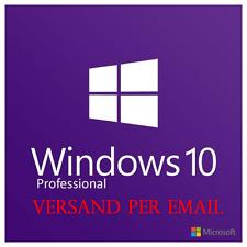 Microsoft Windows 10 Pro Professional OEM 32bit/64bit Key Lizenz VOLLVERSION