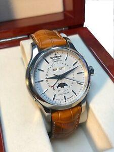 Wempe Glashutte 1/SA - Zeitmeister Classic Moon Phase / Full Calendar Watch