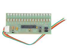 Dual Channel MCU Adjustable Display Pattern LED VU Meter Level Indicator 16LED
