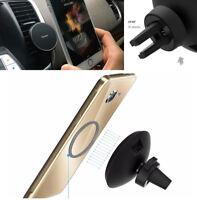 Qi Wireless ABS Car Telefon Ladegerät Magnetic Air Vent Halterung Für Smartphone