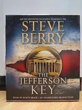 THE JEFFERSON KEY by Steve Berry (2011, CD, Unabridged)