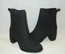 Jeffrey Campbell Women's Clima PVC Heeled Rain Boots Retail $55 size 7