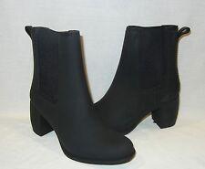 Jeffrey Campbell Women's Clima PVC Heeled Rain Boots Retail $55 size 7