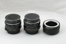 Pentax Takumar for SONY E-mount Lot 2 Lens 55mm 1.8 35mm 3.5  NEX bundle adapter